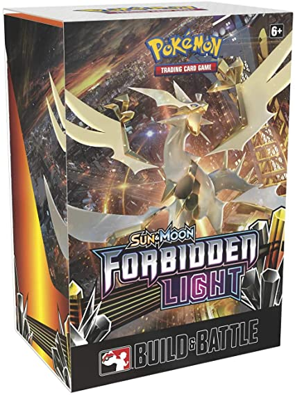 Pokemon Tcg Sun Moon Forbidden Light Pre Release Box