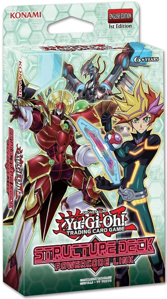 Yu Gi Oh Powercode Link Structure Deck