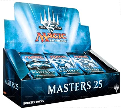 Mtg Masters 25 Booster Display