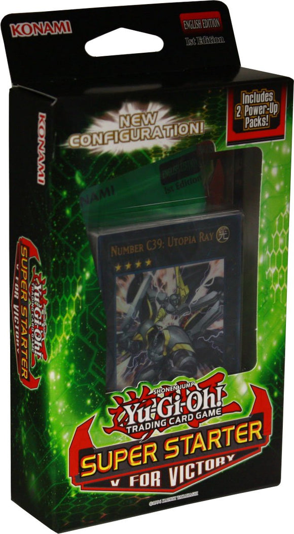 Yu Gi Oh V For Victory Super Starter Power Box