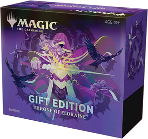 Mtg Tcg Throne Of Eldraine Holiday Gift Bundle
