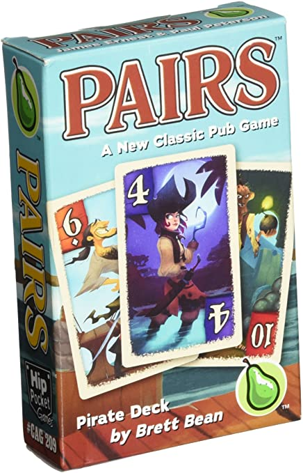 Pairs Pirate Deck Game