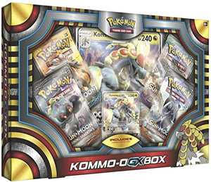 Pokemon Tcg Kommo Gx Collection Box