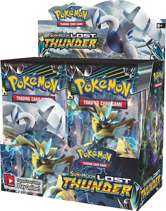 Pokemon Tcg Lost Thunder Booster Display