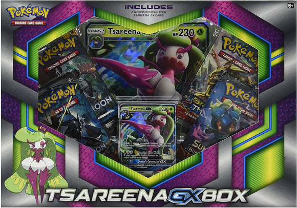 Pokemon Tcg Tsareena Gx Collection Box