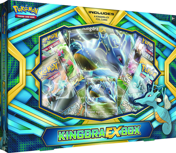 Pokemon Kingdra Ex Collection Box