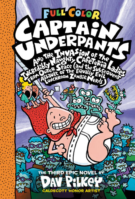 Captain Underpants Invasion O/T Incredibly Naughty Hc