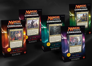 Mtg Commander Box 2016 Display