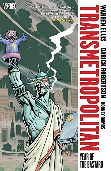 Transmetropolitan Tp Vol 03 Year Of The Bastard New Ed (Mr)