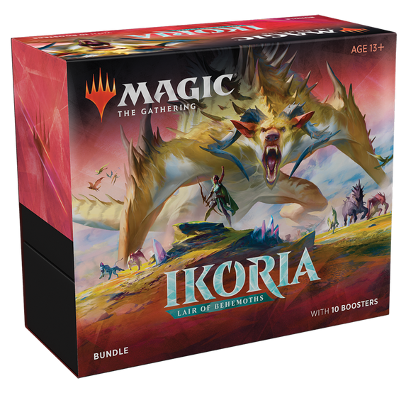 Mtg Tcg Ikoria Lair of Behemoths Bundle