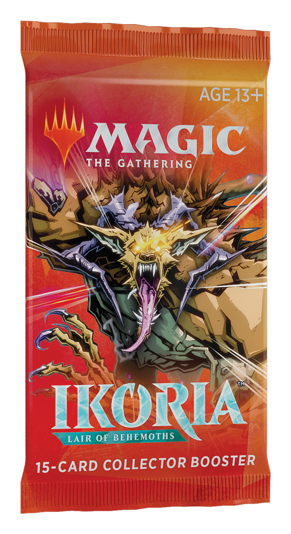 MTG Ikoria Lair of Behemoths COLLECTOR'S BOOSTER PACK