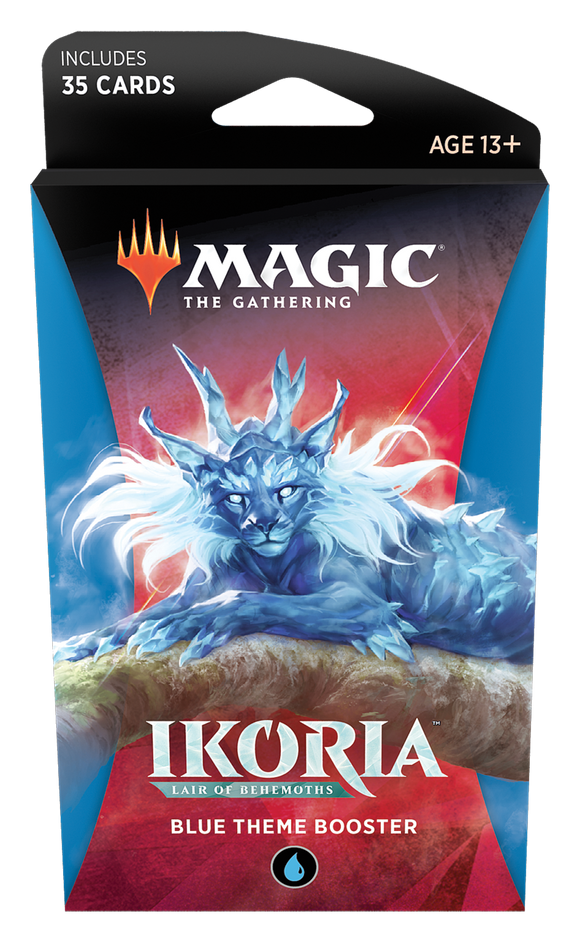 MTG TCG IKORIA LAIR OF BEHEMOTHS BLUE THEME BOOSTER PACK