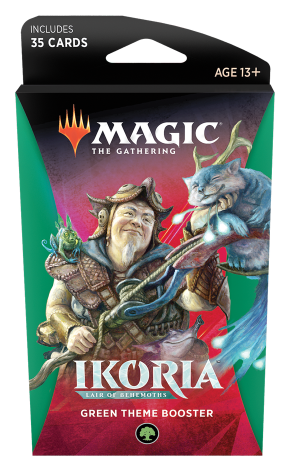 MTG TCG IKORIA LAIR OF BEHEMOTHS GREEN THEME BOOSTER PACK