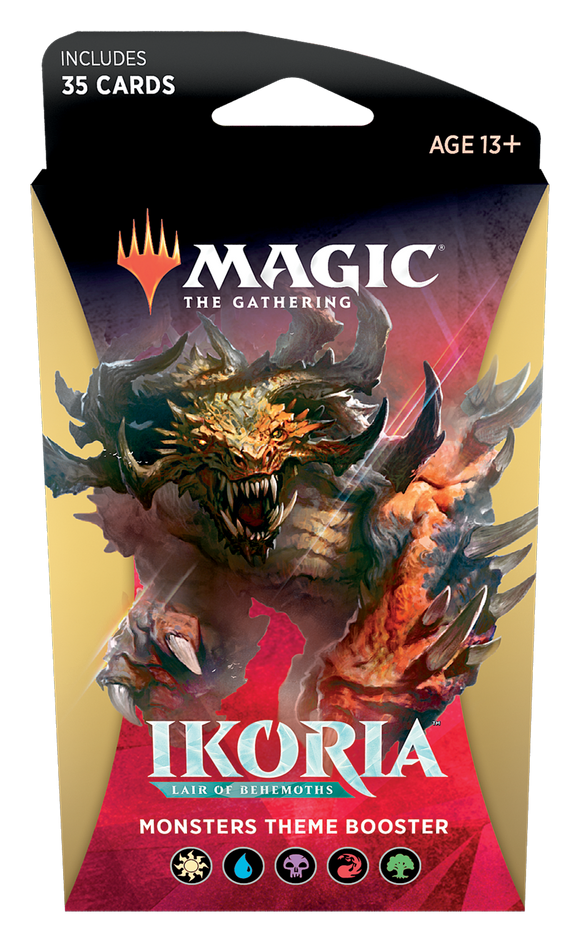 MTG TCG IKORIA LAIR OF BEHEMOTHS MONSTER THEME BOOSTER PACK