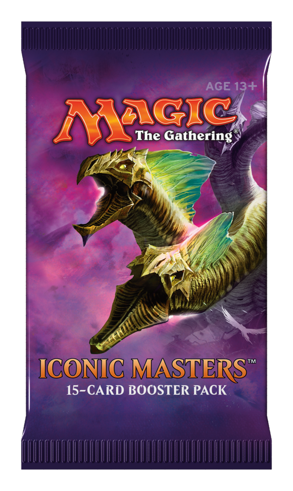 Mtg Iconic Master Booster Pack