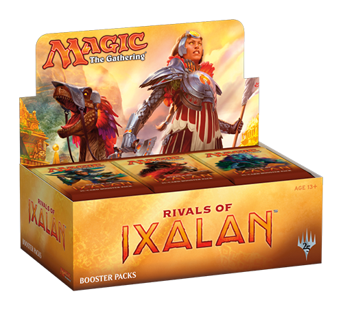 Mtg Rivals Of Ixalan Booster Box Display