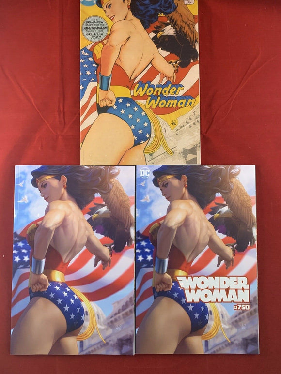 Wonder Woman #750 Artgerm Variant Set
