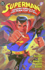 Superman Adventures Of The Man Of Steel Tp (Star07746)
