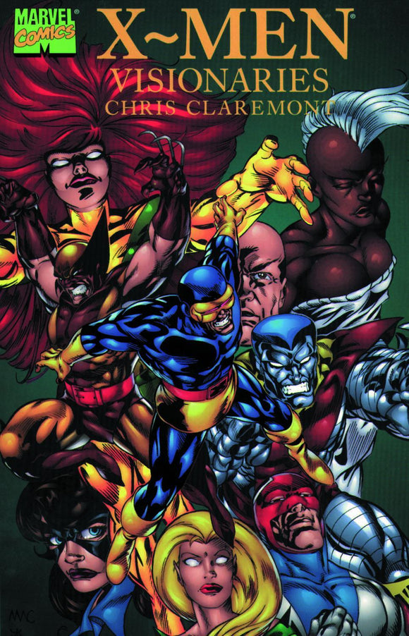 X-Men Visionaries Writing Of Chris Claremont Tp
