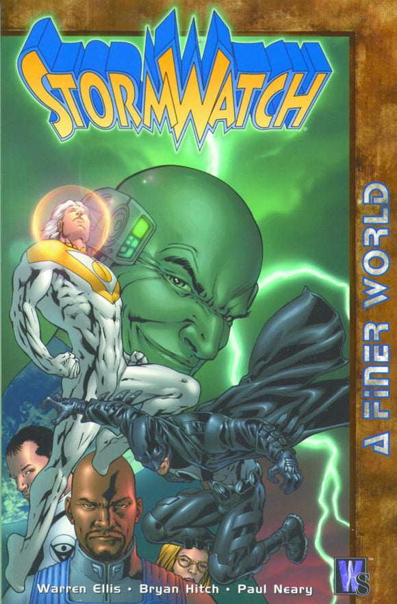 Stormwatch Tp Vol 04 A Finer World (Star10050)