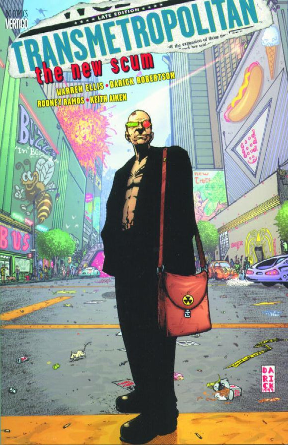 Transmetropolitan Vol 4 The New Scum Tp