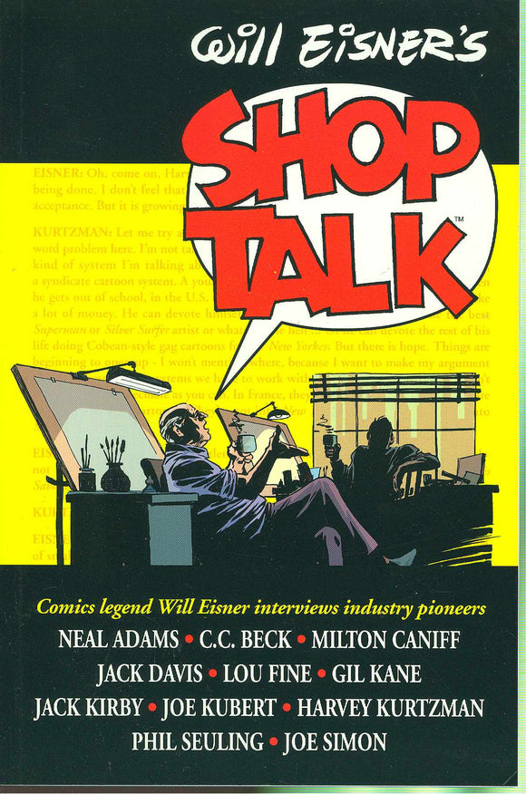 Will Eisners Shop Talk Tp