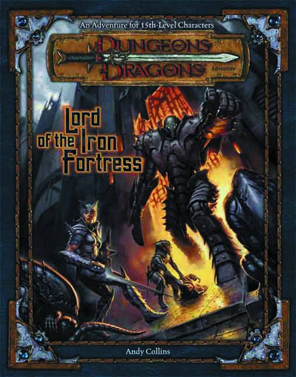 Dungeons And Dragons Lord Of The Iron Fortress