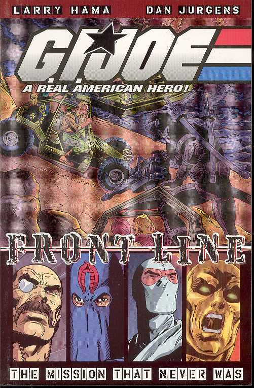 Gi Joe Frontline Vol 1 Mission That Never Was Tp