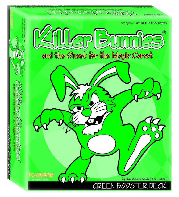 Killer Bunnies Green Booster Expansion