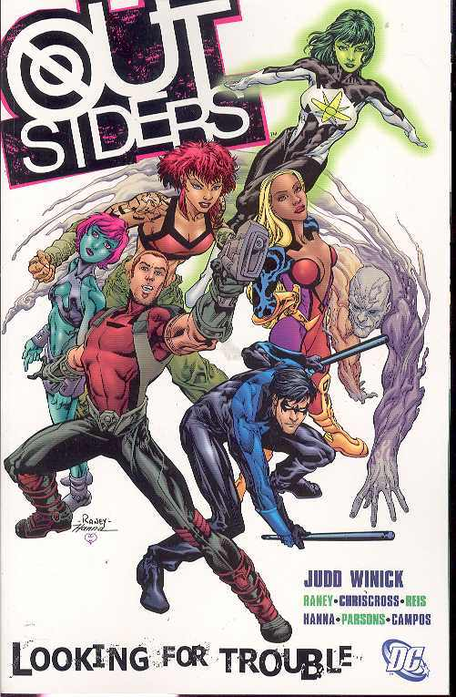 Outsiders Tp Vol 01 Looking For Trouble (Jun058157)