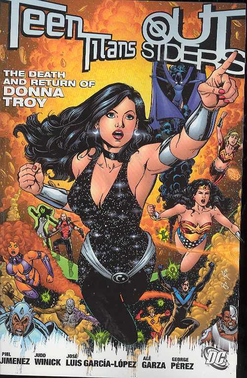 Teen Titans Outsiders Death And Return Of Donna Troy Tp (Dec