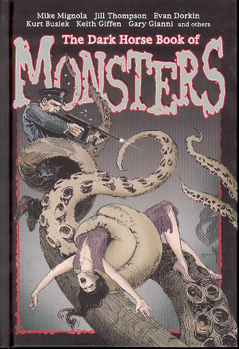 Dark Horse Book Of Monsters Hc
