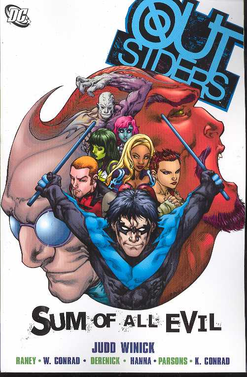 Outsiders Tp Vol 02 Sum Of All Evil (Jul068293)