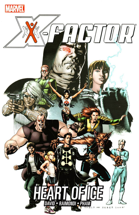 X-Factor Tp Vol 04 Heart Of Ice
