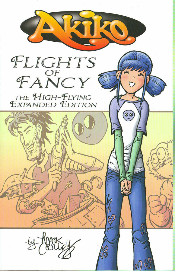Akiko Flights Of Fancy High Flying Expd Ed Tp