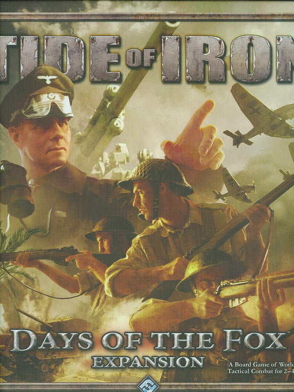 Tide Of Iron Days Of The Fox Expansion
