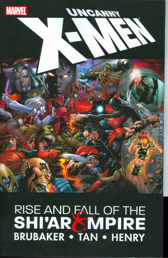 Uncanny X-Men Tp Rise & Fall Of The Shiar Empire (Nov072223)