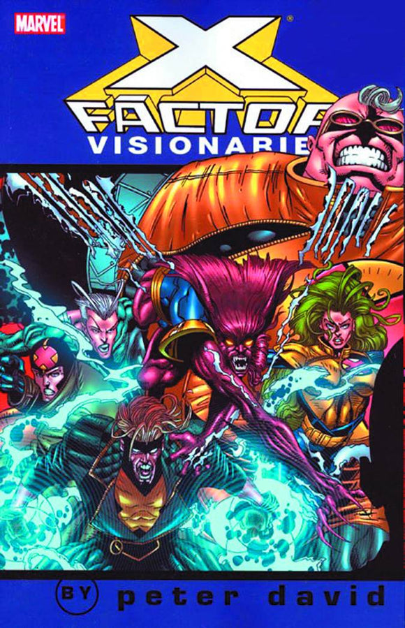 X-Factor Visionaries Peter David Tp Vol 04