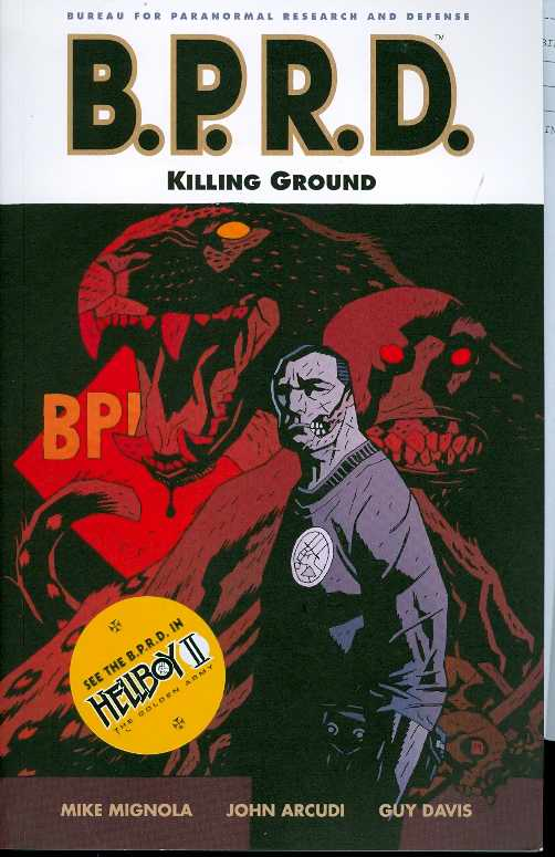 Bprd Tp Vol 08 Killing Ground
