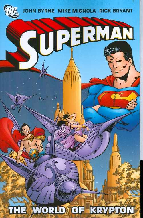Superman World Of Krypton Tp (Feb080253)