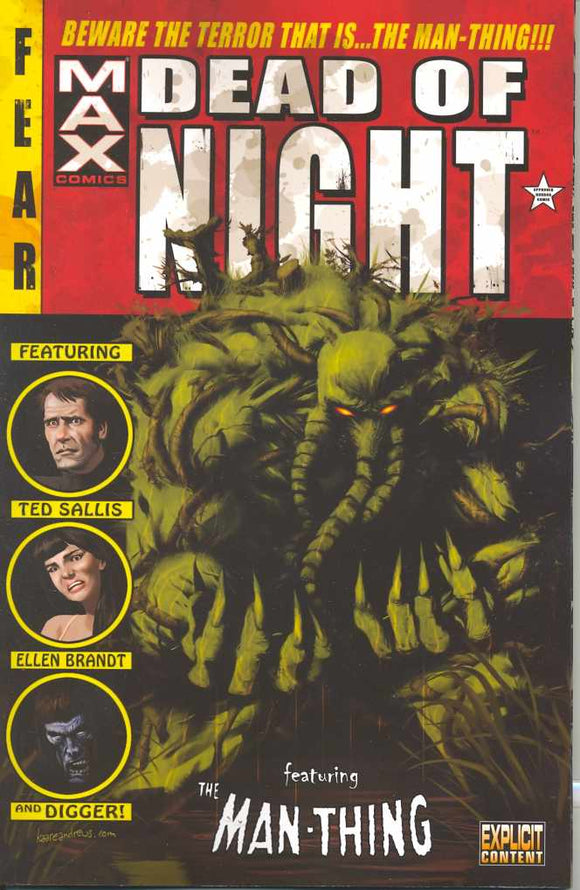 Dead Of Night Featuring Man-Thing Tp (Mr)