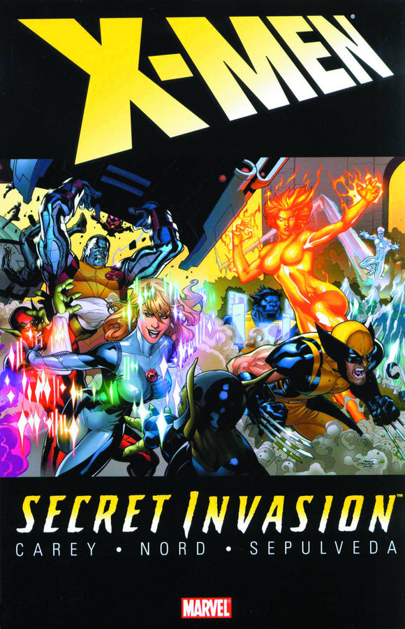 Secret Invasion Tp X-Men