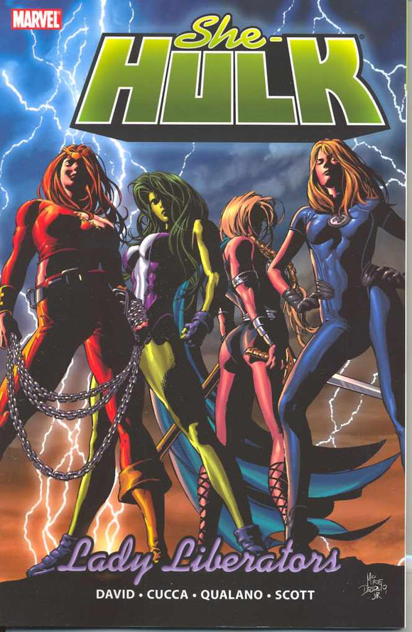 She-Hulk Tp Vol 09 Lady Liberators