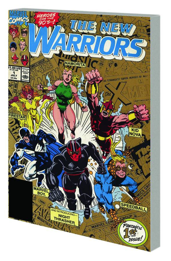 New Warriors Classic Tp Vol 01