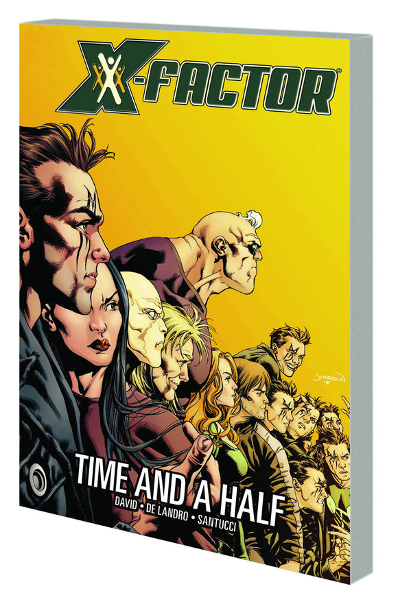 X-Factor Tp Vol 07 Time And A Half