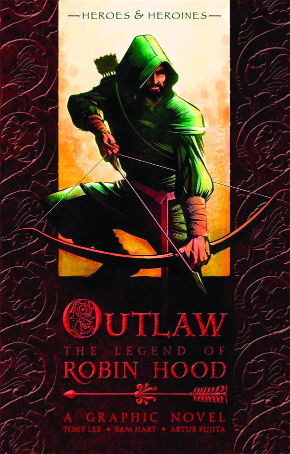 Outlaw Legend Of Robin Hood Gn