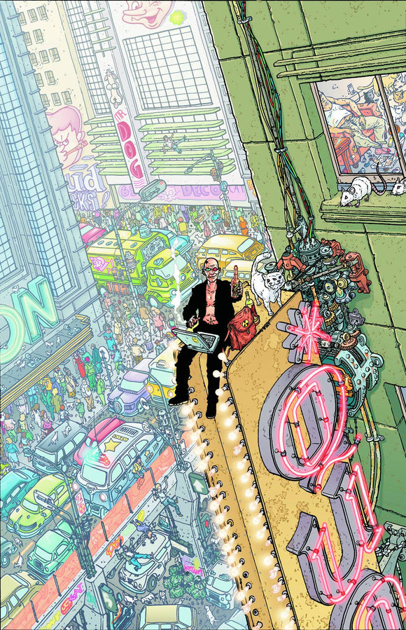 Transmetropolitan Tp Vol 04 The New Scum New Ptg
