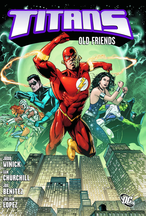 Titans Old Friends Tp