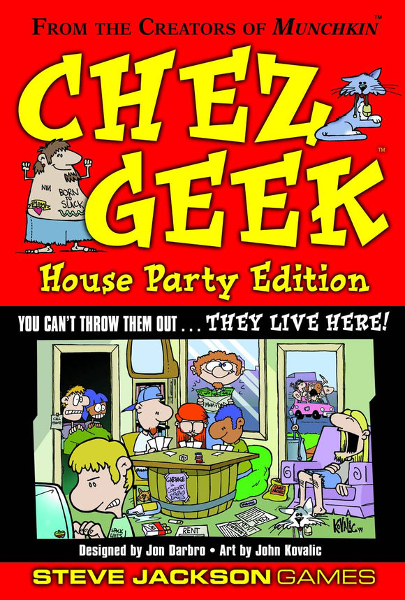 Chez Geek Card Game House Party Ed