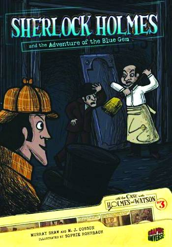 On The Case With Holmes & Watson Gn Vol 03 Adv Blue Gem